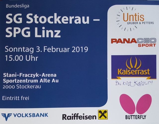 20190203 SG Stockerau   SPG Linz